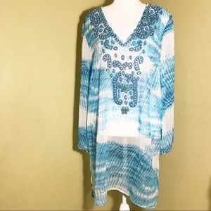BLUE ISLAND Swimsuit cover up L